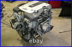 07-08 Infiniti G35 Sedan Vq35hr Engine Running Motor