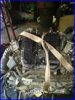 07-08 Infiniti G35x Sedan Vq35hr Complete Engine Running Motor
