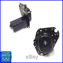 1968-79 GM Cars Non Recessed Wiper Motor With Oval Hole Black