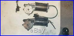 1968 dodge charger gtx coronet power window motor lift set 4 two right two left