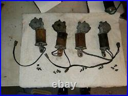 1968 dodge charger power window motor lift set 4 two right two left b-body 68 69