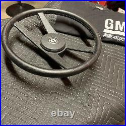 1971-1981 Chevy Vega Gt Camaro Chevelle Nk4 Spoke Sport Steering Wheel Black Ss