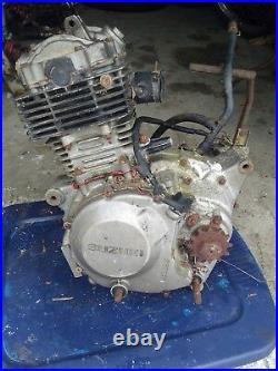 1987 Suzuki LT230S Quad Sport 230 complete Motor top bottom head for Parts
