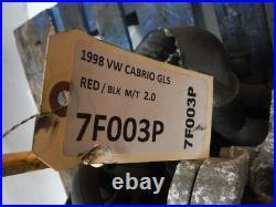 1998 Vw Cabrio Gls M/t Engine Motor 4cyl 2.0 Oem 1993 1994 1995 1996 1997