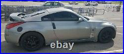 2003 nissan 350z- parts. Motor blown, all other parts work. Good body, new tires