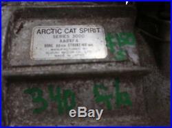 Arctic Cat Jag 3000 340cc F/A Suzuki Snowmobile Engine Motor