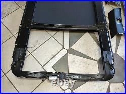 Bmw E70 X5 Roof Dome Headliner Black Trim Cover Panel Set+ Sunroof Oem C6