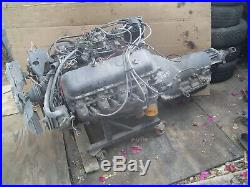 Chevrolet 454 running motor BBC Chevy engine with transmission complete SS