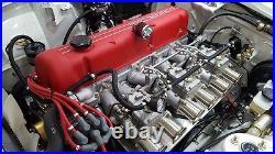Datsun 240Z 260Z 280Z 280ZX Engine Motor Head OEM Red Wrinkle Valve Cover OEM