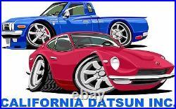 Datsun 510 610 520 521 Engine Motor Head OEM Red Wrinkle Valve Cover OEM