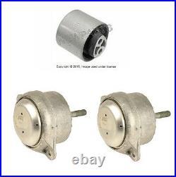 For Porsche 986 987 Engine+Manual Trans Mounts 3 pcs Transmission Motor Support
