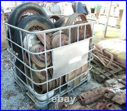 Large Lot (9 Pallets) Of Vintage Used Ford Model A Parts Motor/trans/axles +