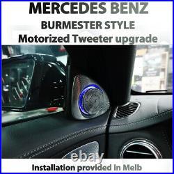 Mercedes GLC W253, X253, 3D BURMESTER MOTORIZED & ILLUMINATED TWEETER