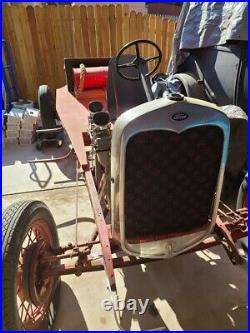 Model a ford parts complete chassie with motor