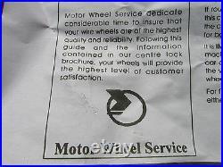 Moss Motors Refurbished Painted 60 Spoke Wire Wheel MG TD TF Motor Wheel Service