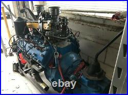 Motor 1947 Ford V8 Flathead with 3 Speed Transmission