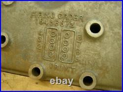 NOS OEM Ford 1937 90HP Cylinder Heads Flat Head V8