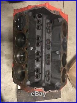 Original 1970 Camaro 350 Sbc Block Engine Motor Chevy Chevrolet T1009cnn