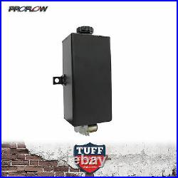 Proflow Black Windscreen Washer Tank Reservoir with 12 Volt Motor Vertical New