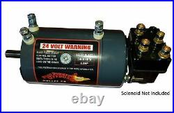Road Runner Offroad Bullet 6.8 Winch motor Including M6 & 1/4 Solenoid Bolts