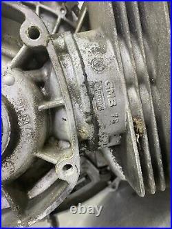 Ski Doo Rotax 277 Citation Single Cylinder Snowmobile Engine Motor Runs Great