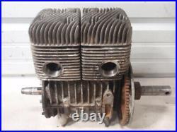 Ski Doo Rotax 399cc Type 401 Twin Vintage Snowmobile Engine Motor Olympic Nordic