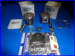 Skidoo Rotax 377/380 Motor Rebuild Kit Pistons/gaskets Standard Size 1980-89