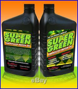 SuperGreen Smokeless Car Motor Oil (10 Quarts)