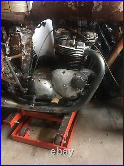 Triumph 1978 T140 Bonneville Frame Titled, Motor and Other Parts Available