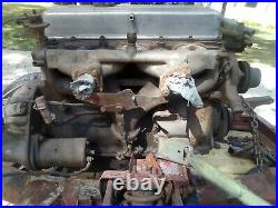 Triumph GT6 motor, transmission, chassis