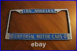 Universal Motors Los Angeles Porsche/VW License Plate Frame. Metal Brand New