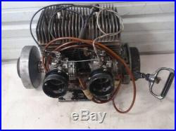 Vintage'72 Ski Doo TNT 400 F/A Snowmobile Engine Motor Dual Tillotsen HD Carbs