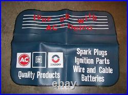 Vintage nos AC Delco promo auto fender part service gm Hot rat rod accessory 70