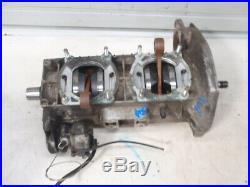 Yamaha SS440 SS 440 Twin Snowmobile Engine Motor Bottom End Crankshaft Cases