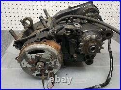 Yamaha YZ 465 motor. No piston and maybe other parts missing